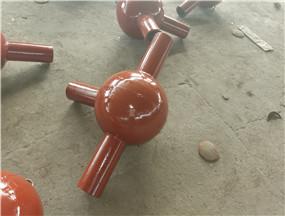 陶瓷球形耐磨彎頭